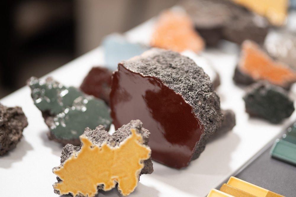 Glazed Lava Stone